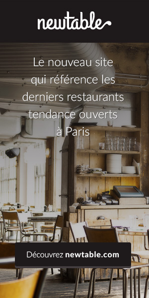 Newtable : guide des restaurants tendance à Paris