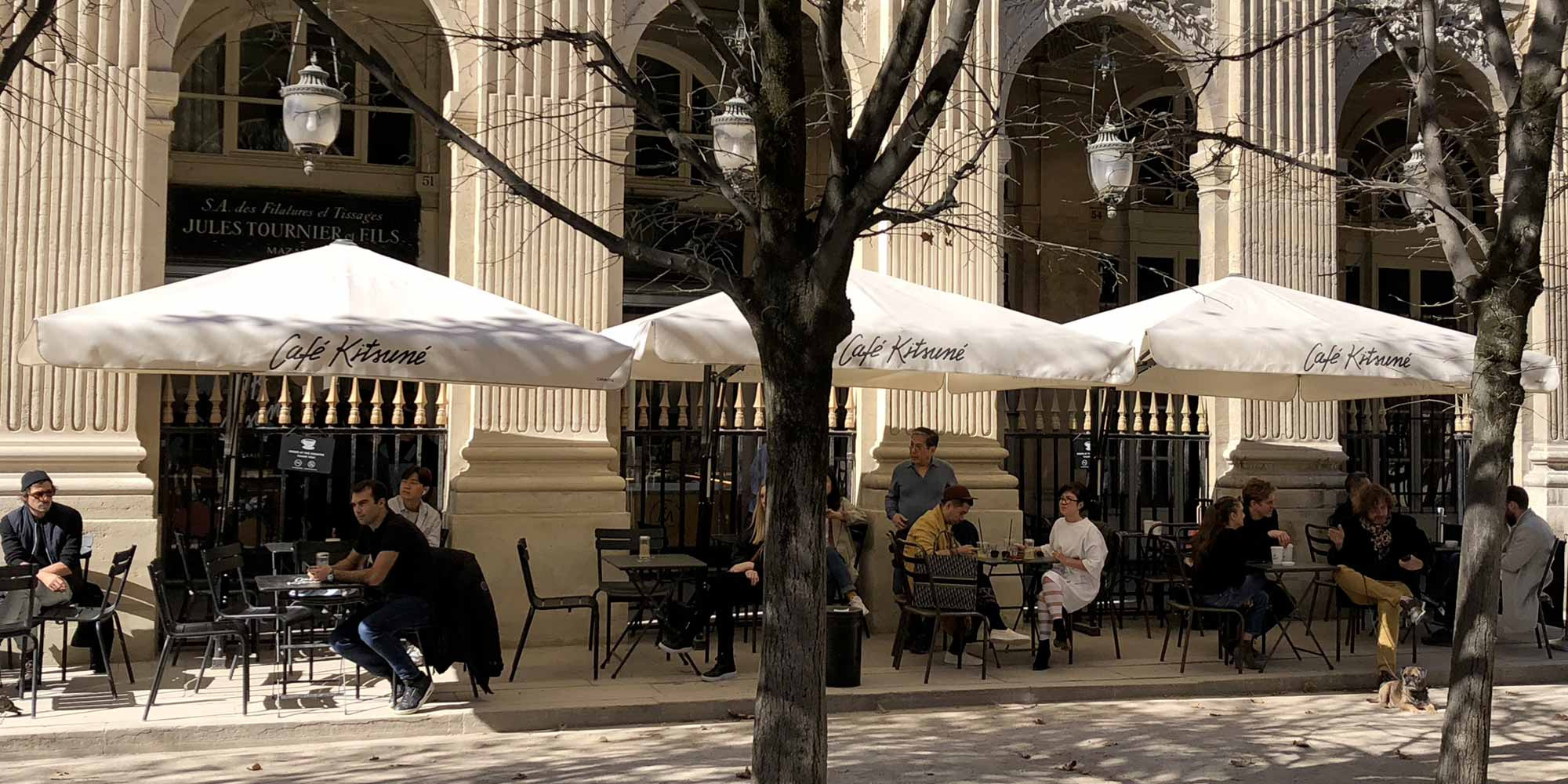 Brunch Café Kitsune (75001 Paris)