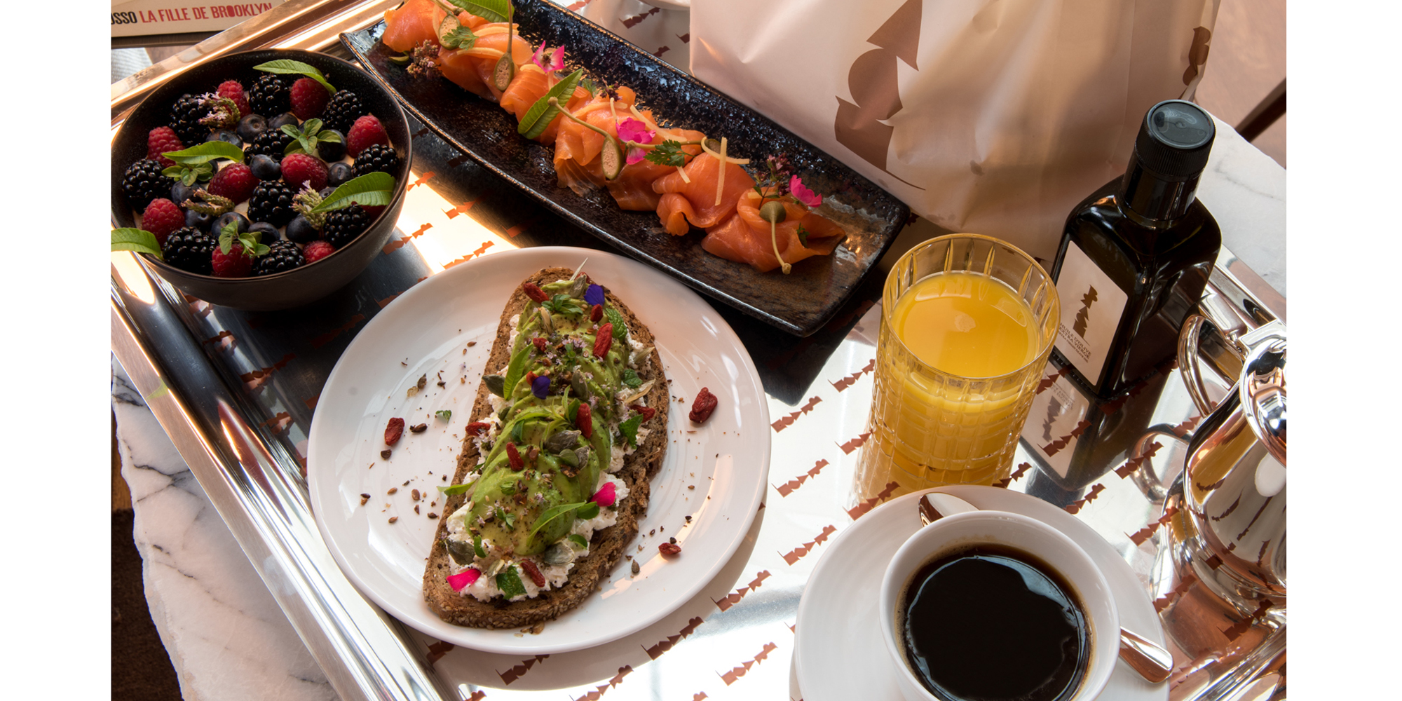 Brunch Hôtel Brach (75016 Paris)