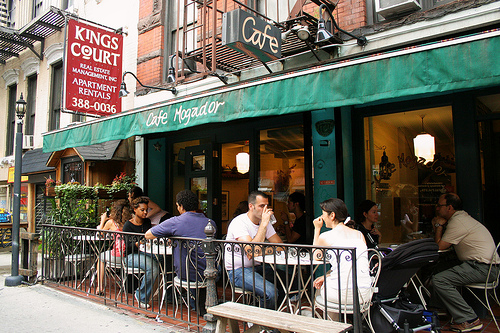 Brunch Café Mogador (NYC New-York)