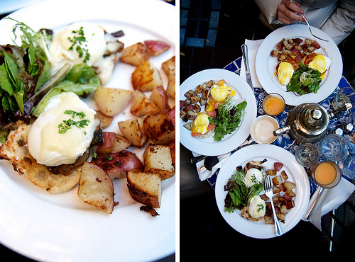 New-York Café Mogador brunch