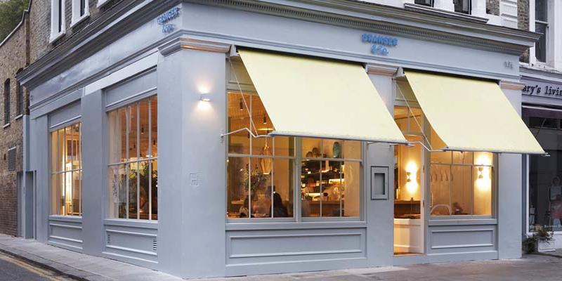 London Granger & Co brunch