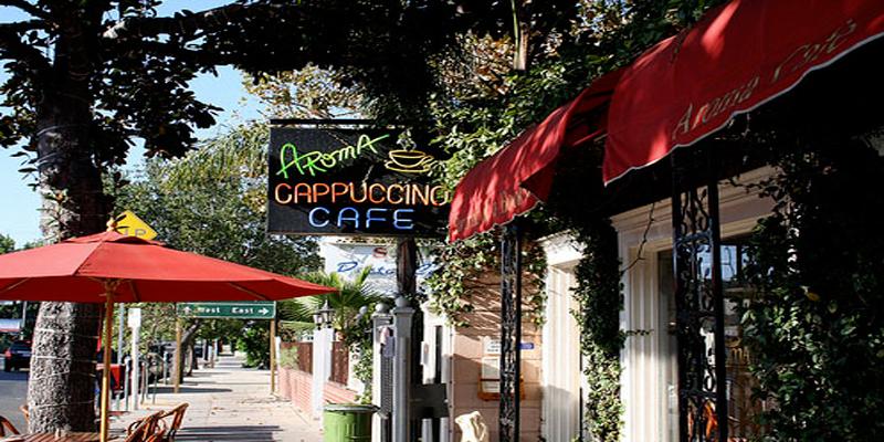 brunch Los Angeles Aroma Café & Tea Company brunch