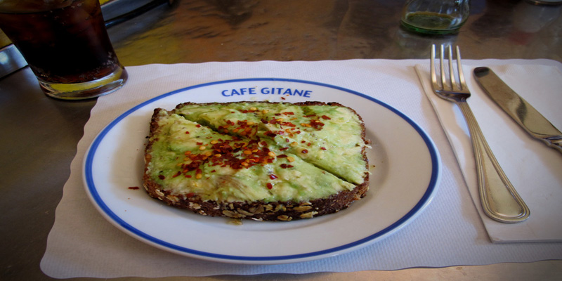 Brunch Cafe Gitane (NYC New York)