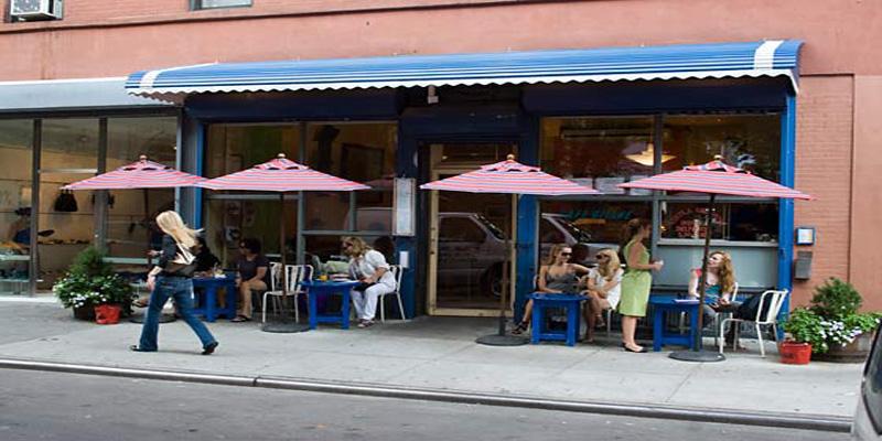 New York Cafe Gitane brunch