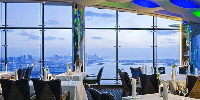 brunch Dubai Al Muntaha - Burj Al Arab brunch