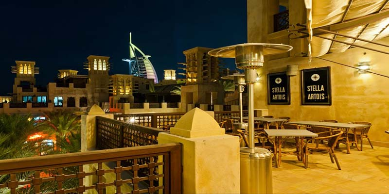 Dubai Belgian Beer Café brunch