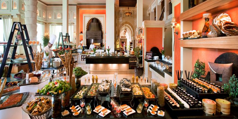 Image result for Al Qasr brunch dubai