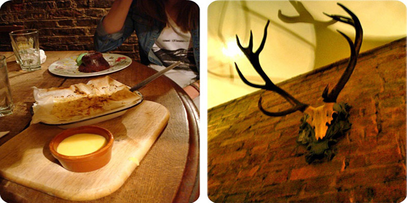 London The Elk in the Woods brunch