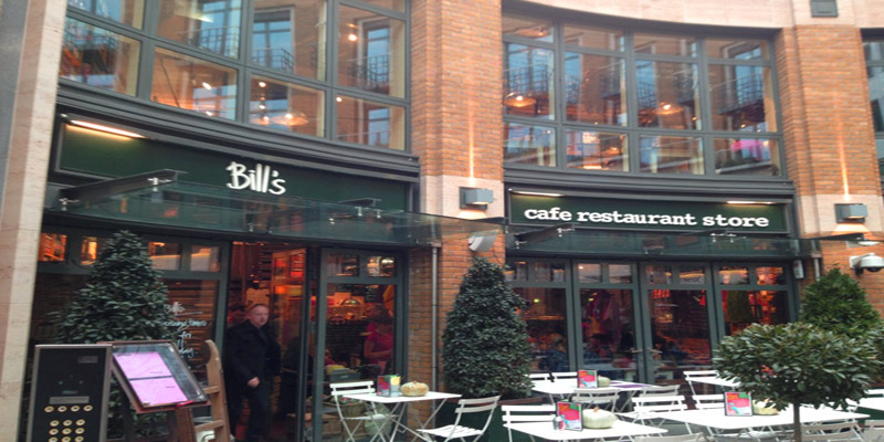 Brunch Bill's Covent Garden WC2E 9AB (LDR Londres)