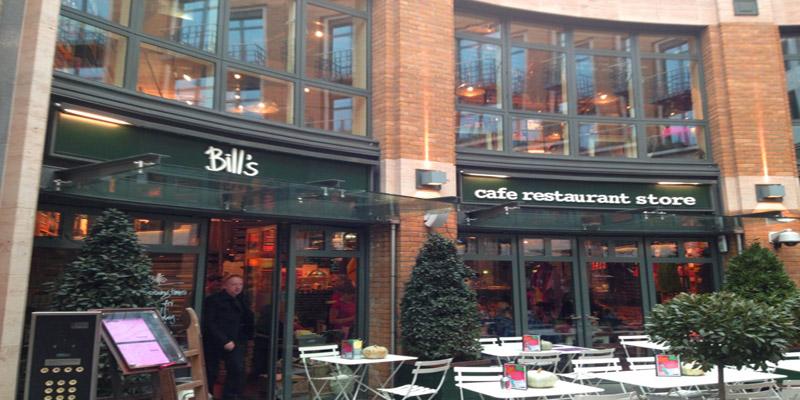 brunch London Bill's Covent Garden WC2E 9AB brunch
