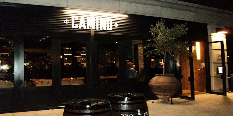 Brunch Camino - Canary Wharf (LDR Londres)