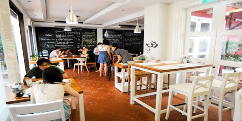 brunch Singapore Artichoke Cafe & Bar brunch