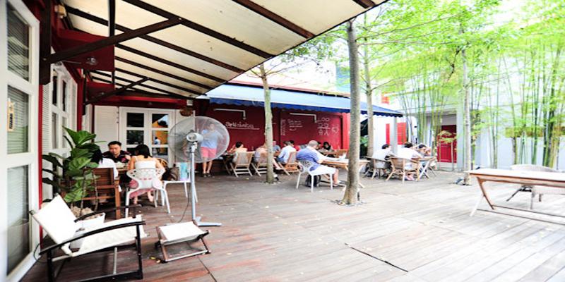 Singapore Artichoke Cafe & Bar brunch