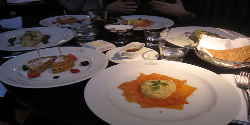 Brunch Café Luc (LDR Londres)