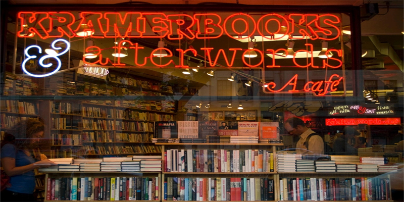brunch Washington Kramerbooks & Afterwords Cafe brunch