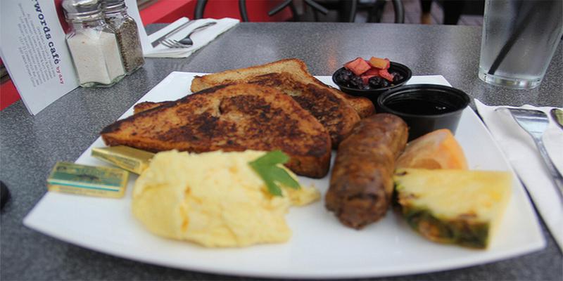 Washington Kramerbooks & Afterwords Cafe brunch