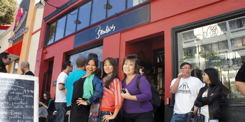 brunch San Francisco Brenda's French Soul Food brunch