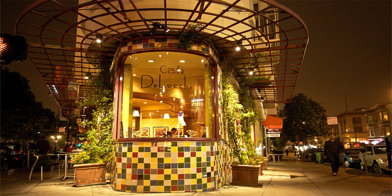 brunch San Francisco Caffé Delucchi brunch