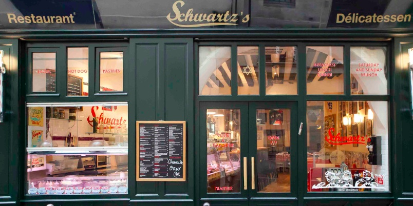 Brunch Schwartz's Deli (75004 Paris)