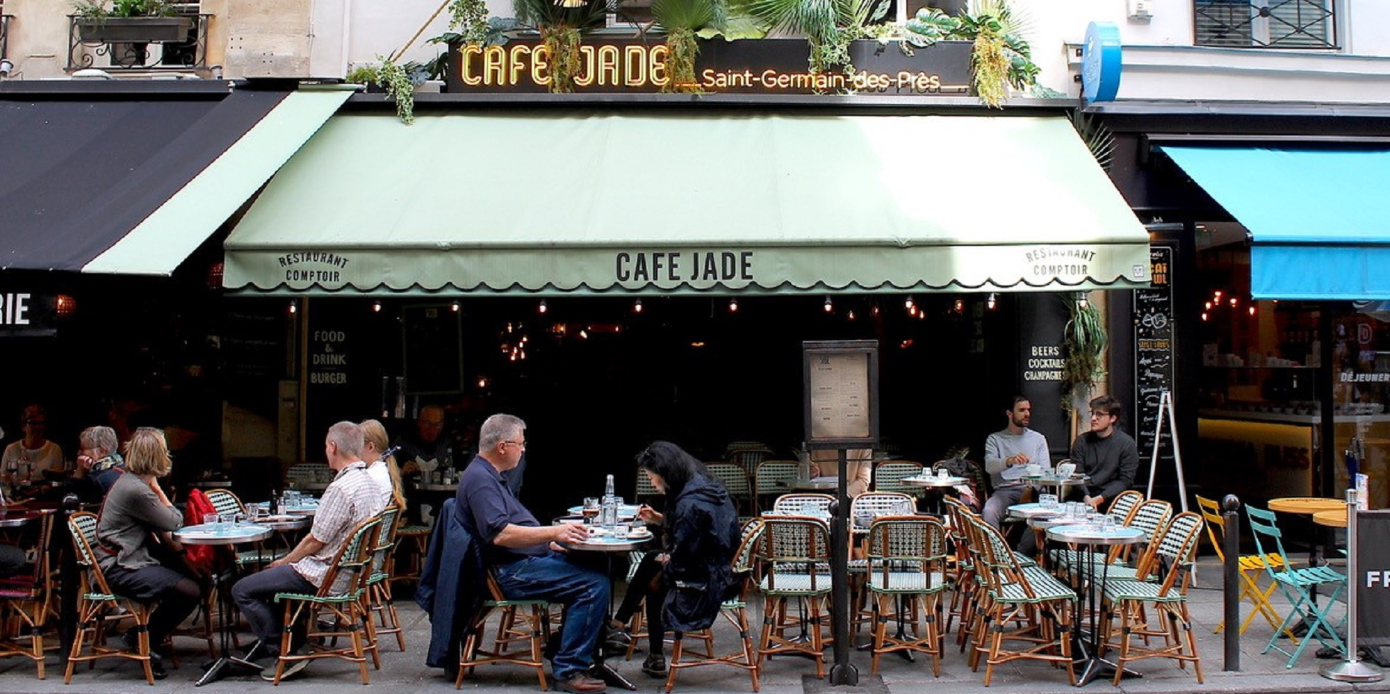 Brunch Café Jade (75006 Paris)