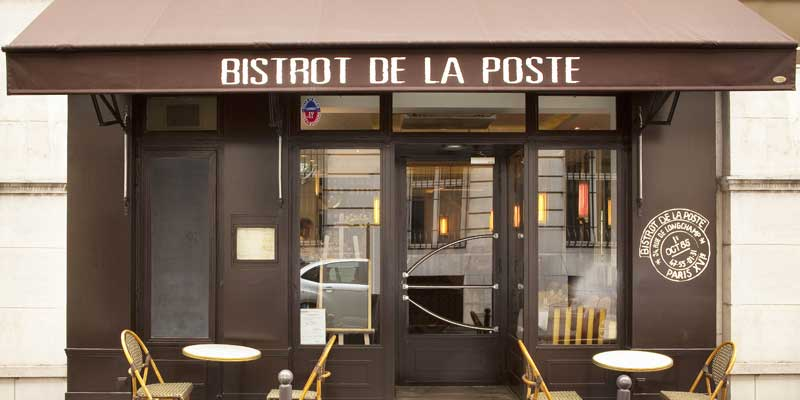 Brunch Bistrot de la Poste (75016 Paris)