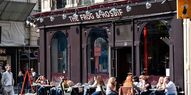 Brunch The Frog & Rosbif (75002 Paris 2ème)
