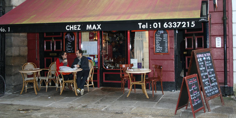 Dublin Chez Max brunch