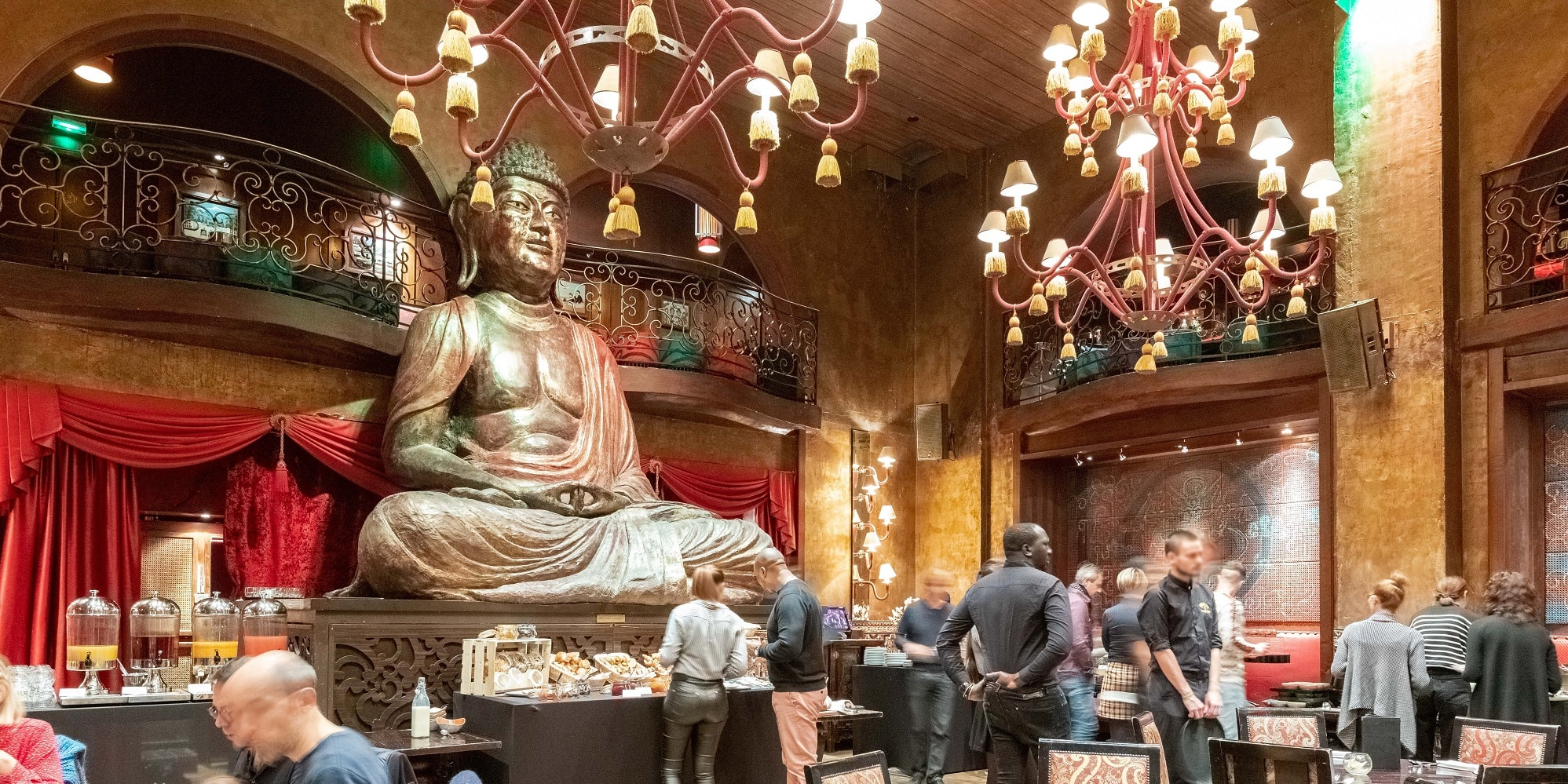 Brunch Buddha Bar (75008 Paris)