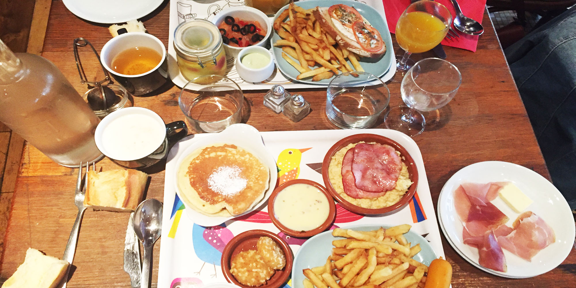 Brunch Comptoir Moderne (75015 Paris)