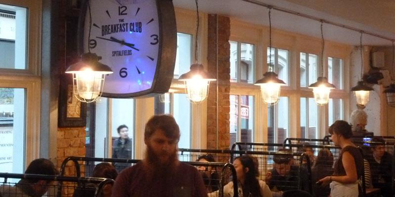brunch London Breakfast Club Spitalfields brunch