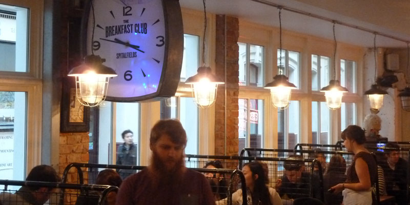 Brunch Breakfast Club Spitalfields (LDR Londres)
