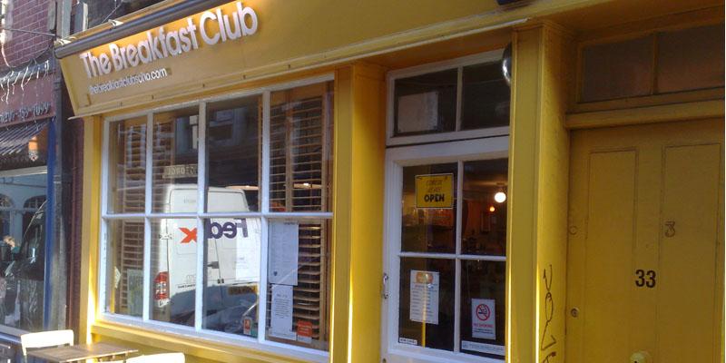 brunch London The Breakfast Club Soho brunch