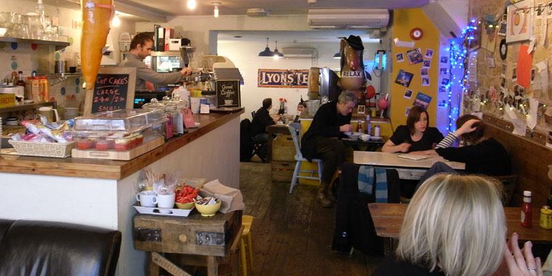 London The Breakfast Club Soho brunch