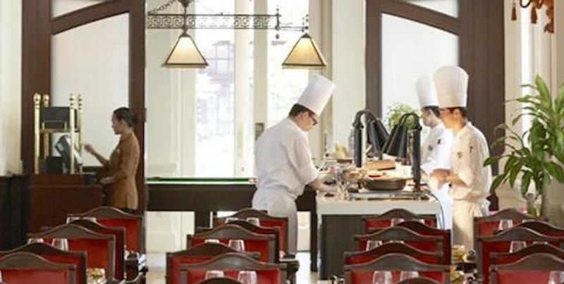 brunch Singapore Bar and Billiard Raffles brunch