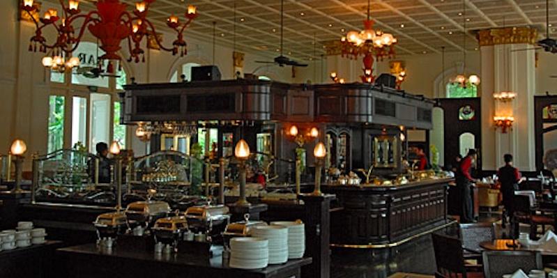 Singapore Bar and Billiard Raffles brunch