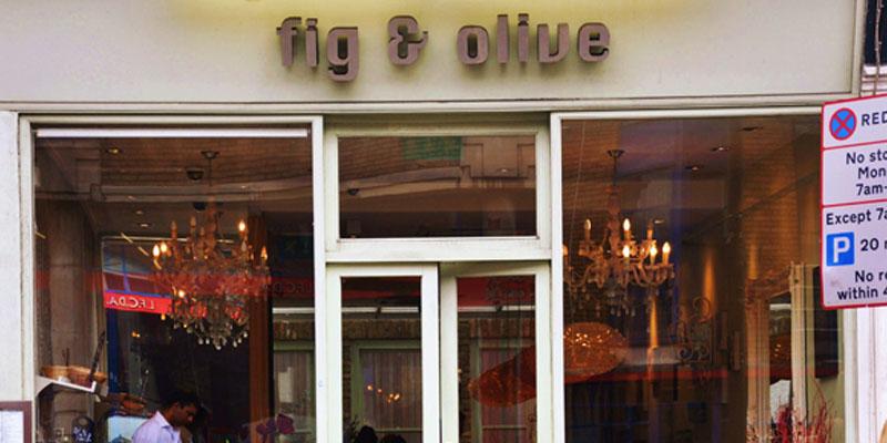 brunch London Fig & Olive brunch