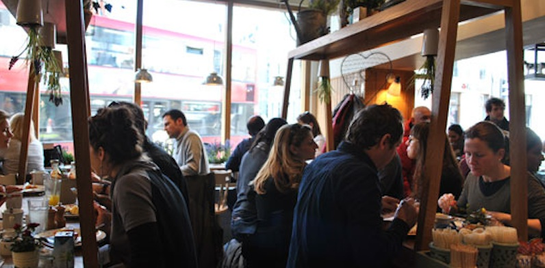 brunch London Muriel's Kitchen brunch