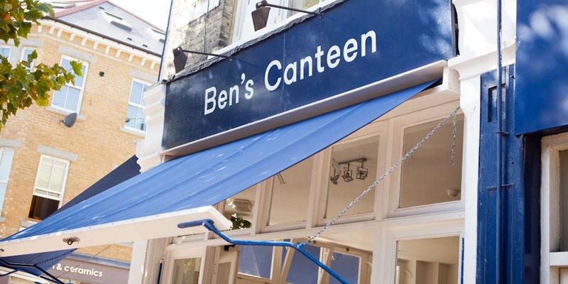 brunch London Ben's Canteen brunch