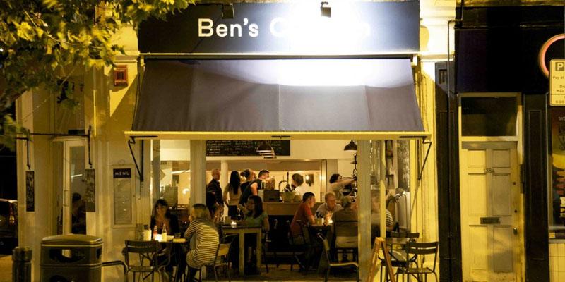London Ben's Canteen brunch