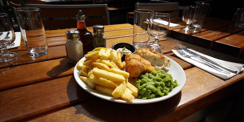 London Fish! brunch