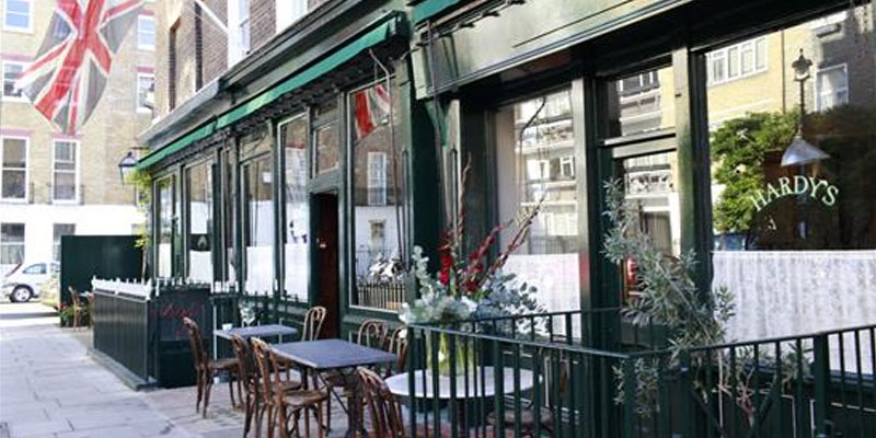 Brunch Hardy's Brasserie & Wine Bar (LDR Londres)