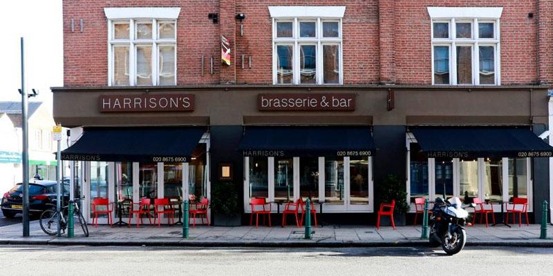 brunch London Harrison's brunch