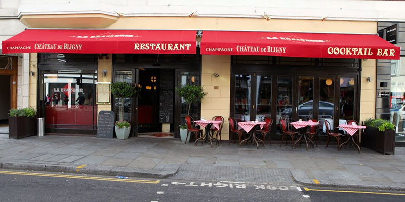 Brunch La Brasserie (LDR Londres)