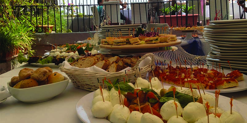 Napoli Ondina Club brunch