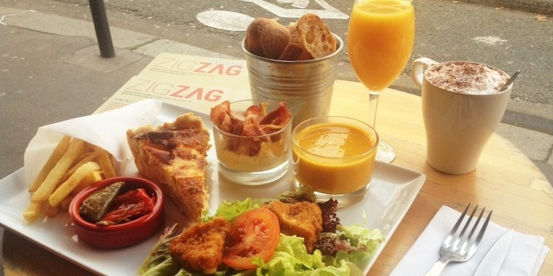 Brunch Zigzag Café (75015 Paris)