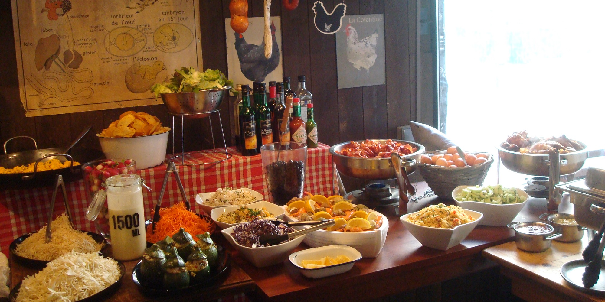 Brunch La Ferme de Charles (75010 Paris)
