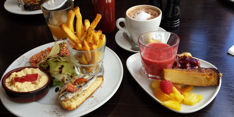 Brunch le comptoir des arts 75005 paris oubruncher - Le comptoir general brunch ...