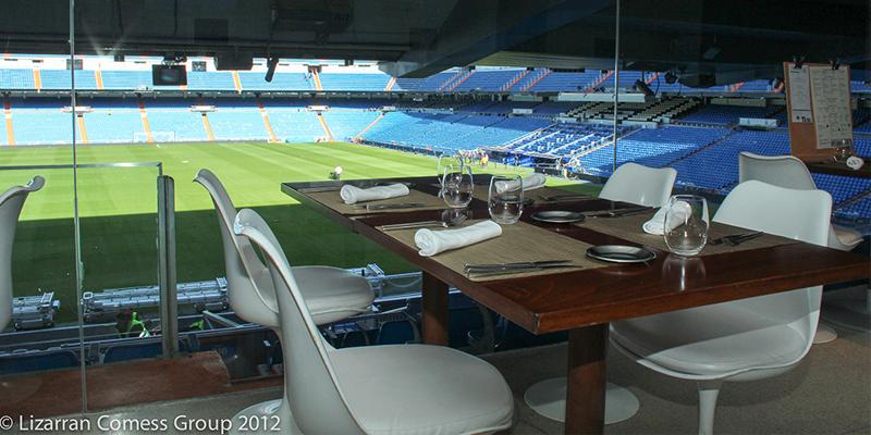 Madrid Real Café Bernabeu brunch