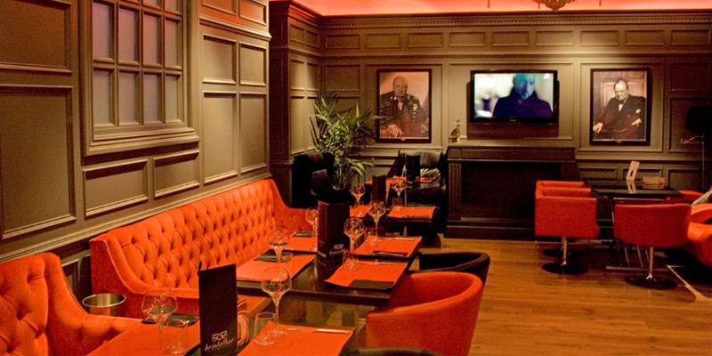 Madrid Bristol Bar brunch